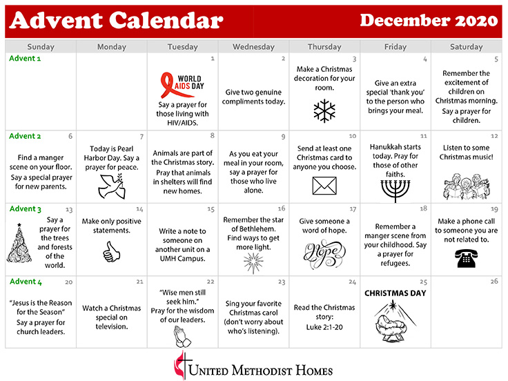 Download our Advent Calendar