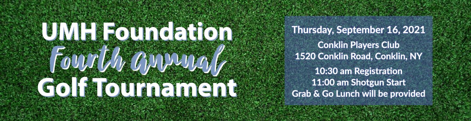 UMH Foundation Golf Tournament - September 16, 2021 - Conklin Player Club